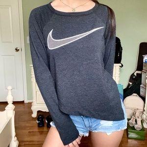 Nike Dri-Fit Asymmetrical Cropped Training Top